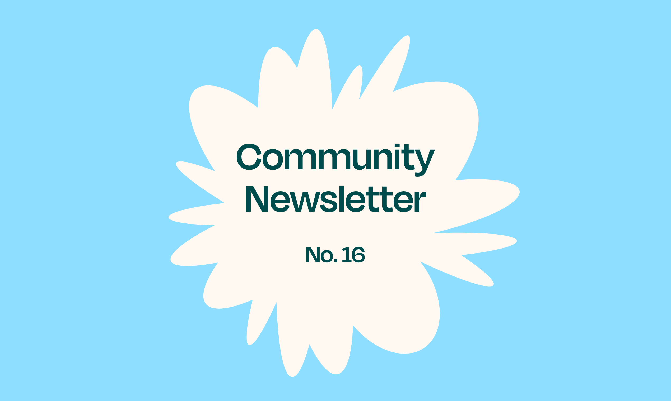 Norby Community Newsletter – No. 16