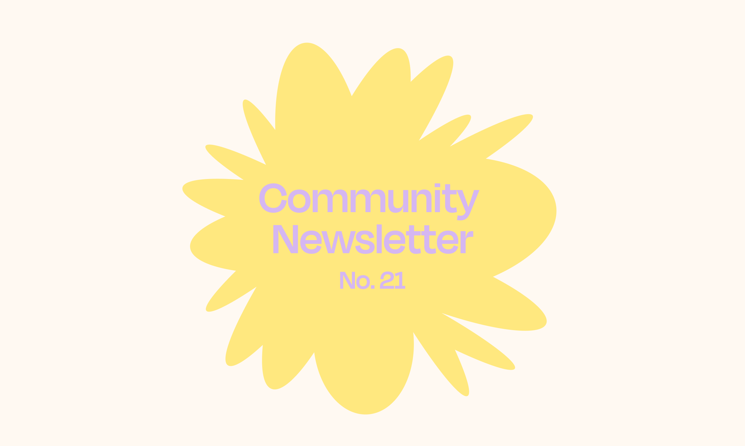 Norby Community Newsletter – No. 21