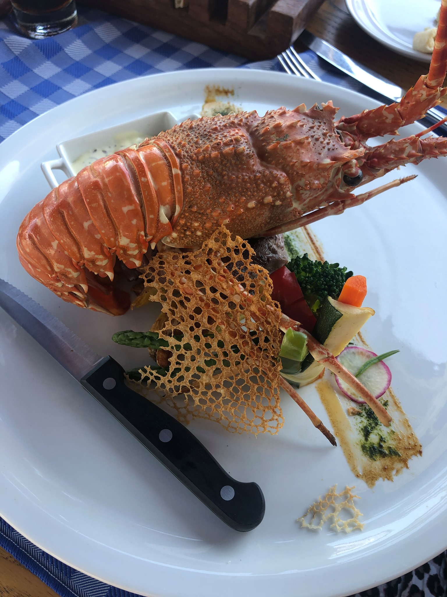 Indulge yourself with fresh seafood at Paphos Pelican Restaurant