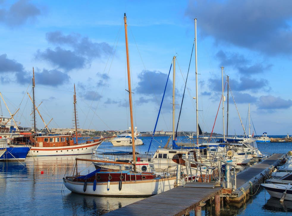 Paphos Harbour - The Pelican Restaurant