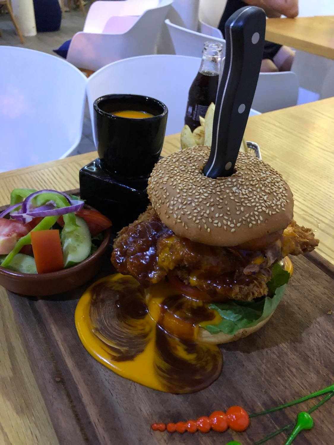 Indulge yourself with our burgers - Paphos Pelican Restaurant