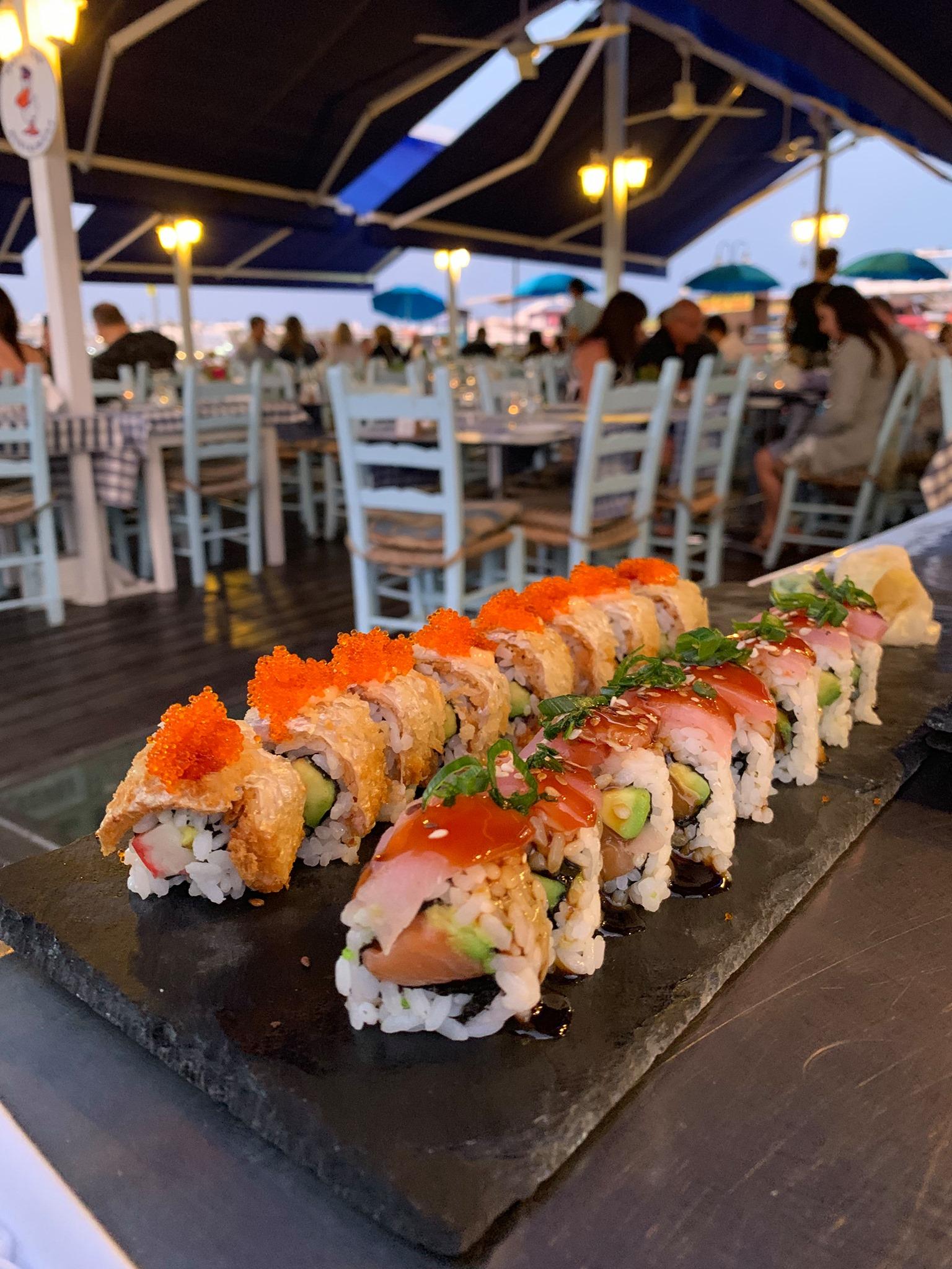 Paphos Pelican Restaurant sushi