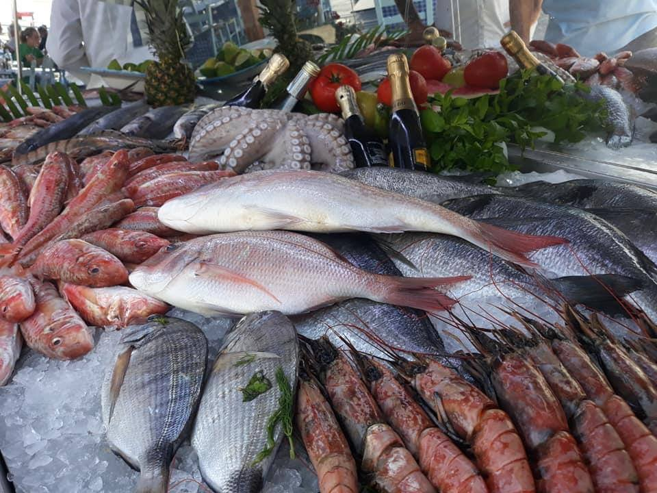Top quality fresh seafood at Paphos Pelican Restaurant