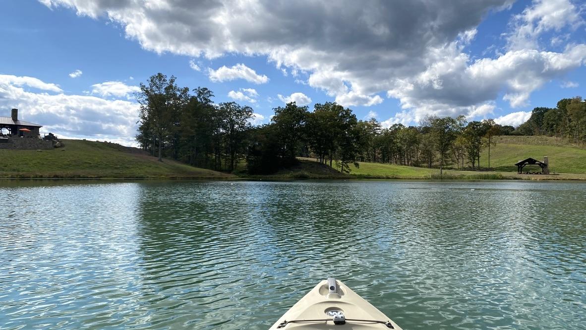 Kayaking at Virginia Retreat