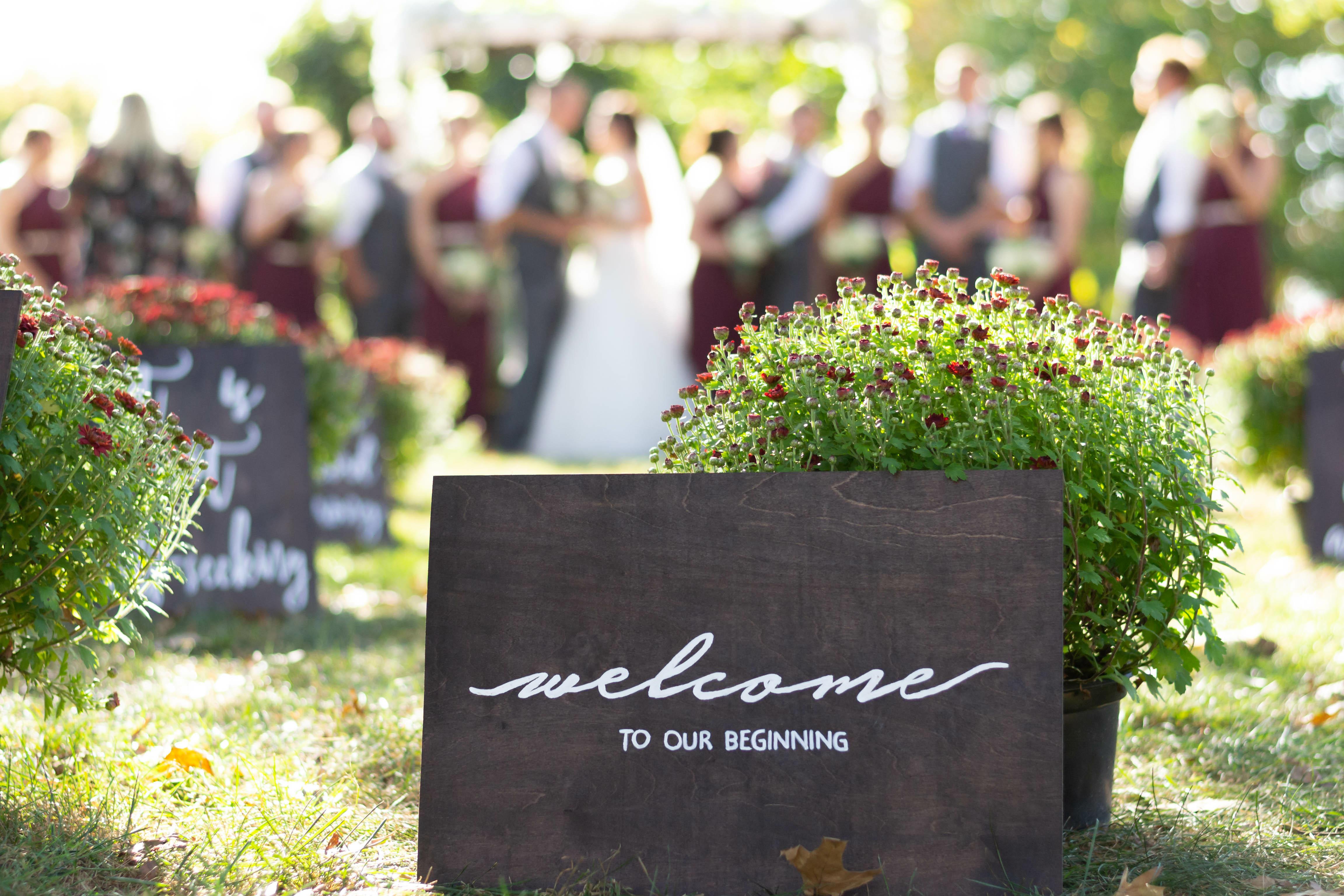 Roanoke Outdoor Wedding Venue