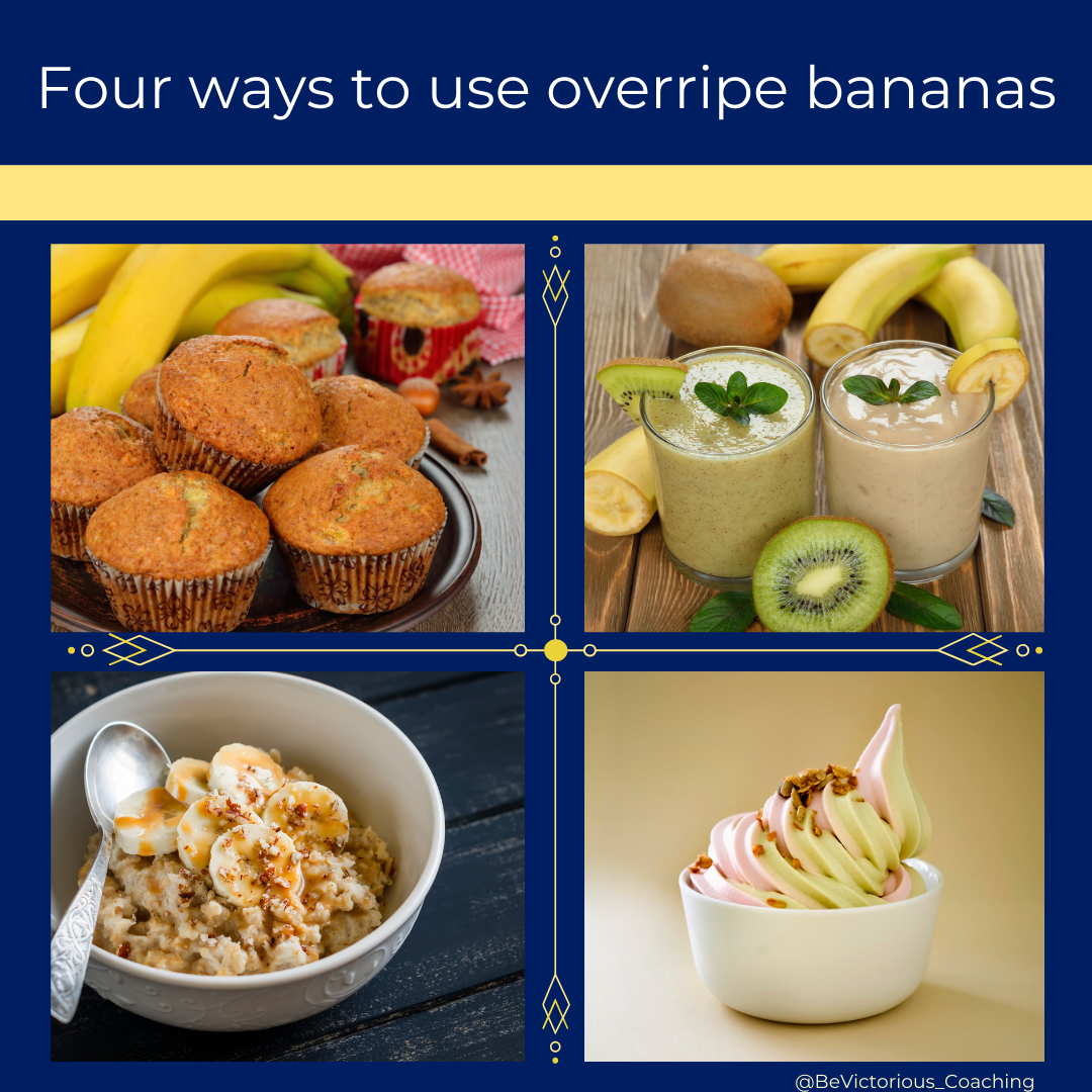 Four Ways To Use Overripe Bananas