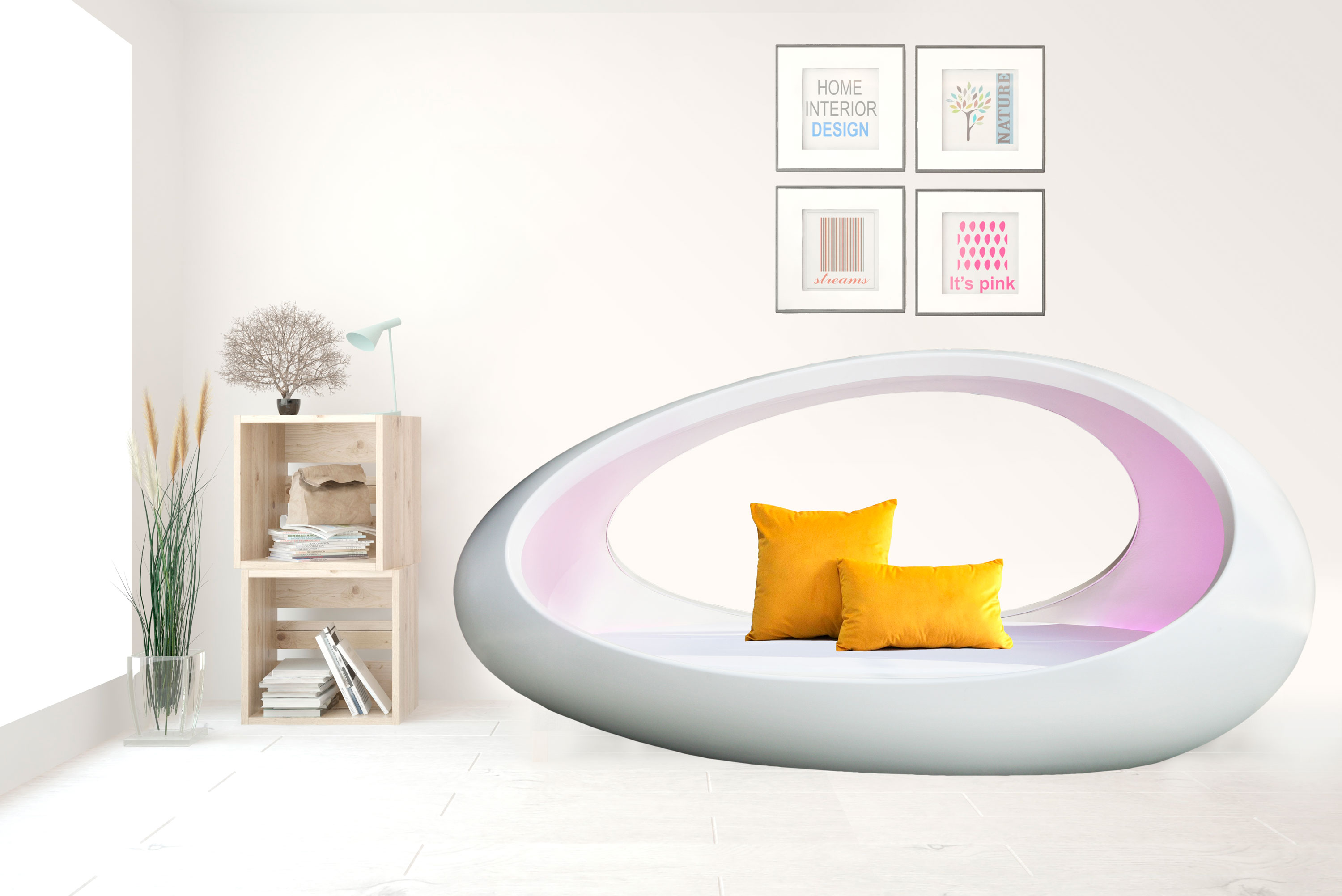 Sophisticated simplicity bed
