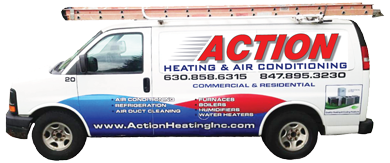 Action Heating & Air Conditioning Car