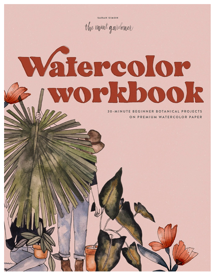 Watercolor Workbook Cover