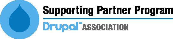 Drupal Association Supporting Partner Program logo