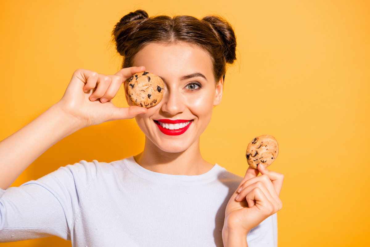 Girl with a cookie