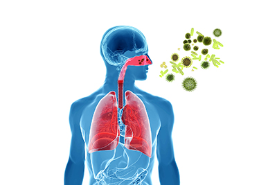 Bacterial infections can lead to nasal problems