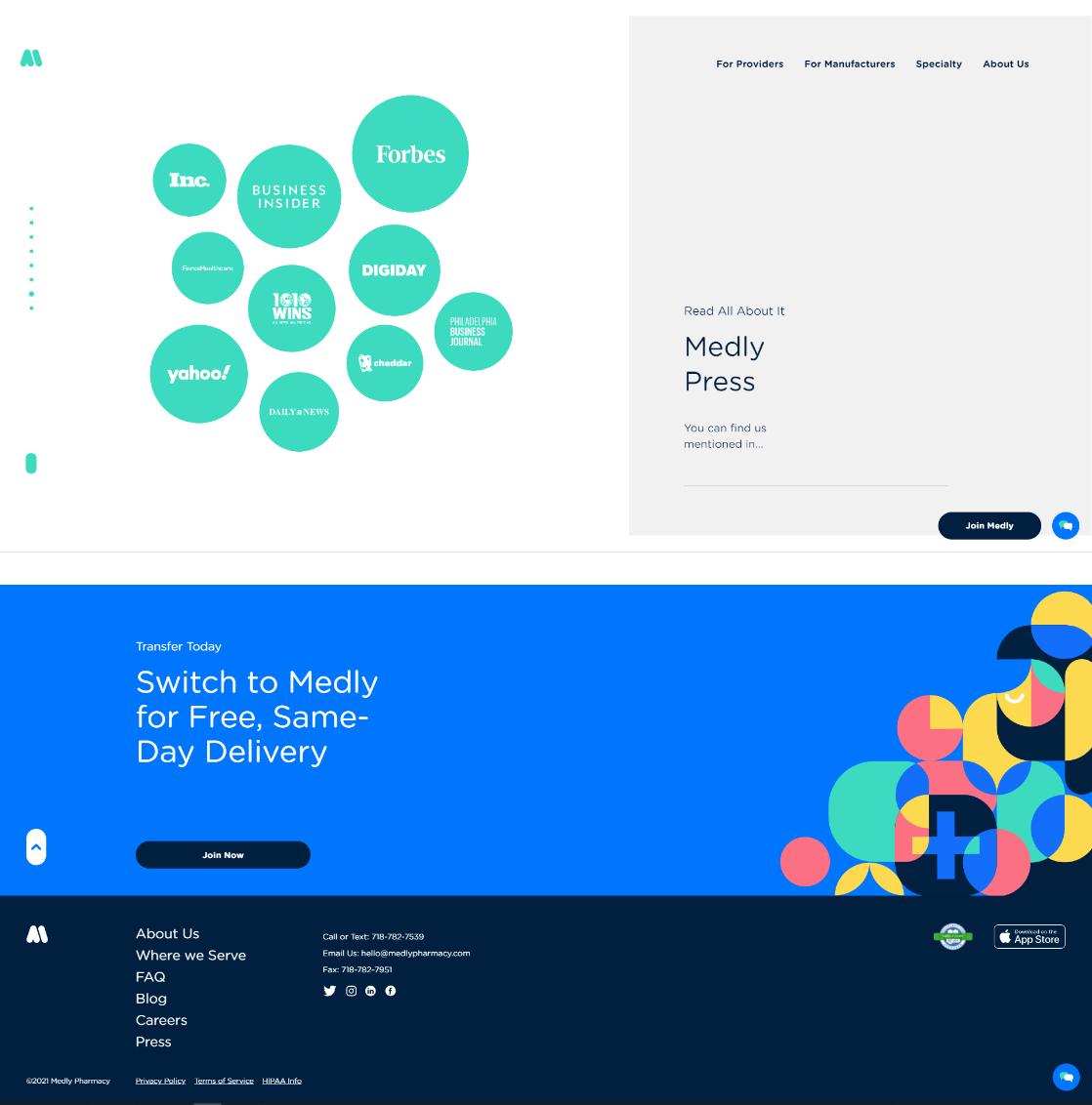 Medly Website
