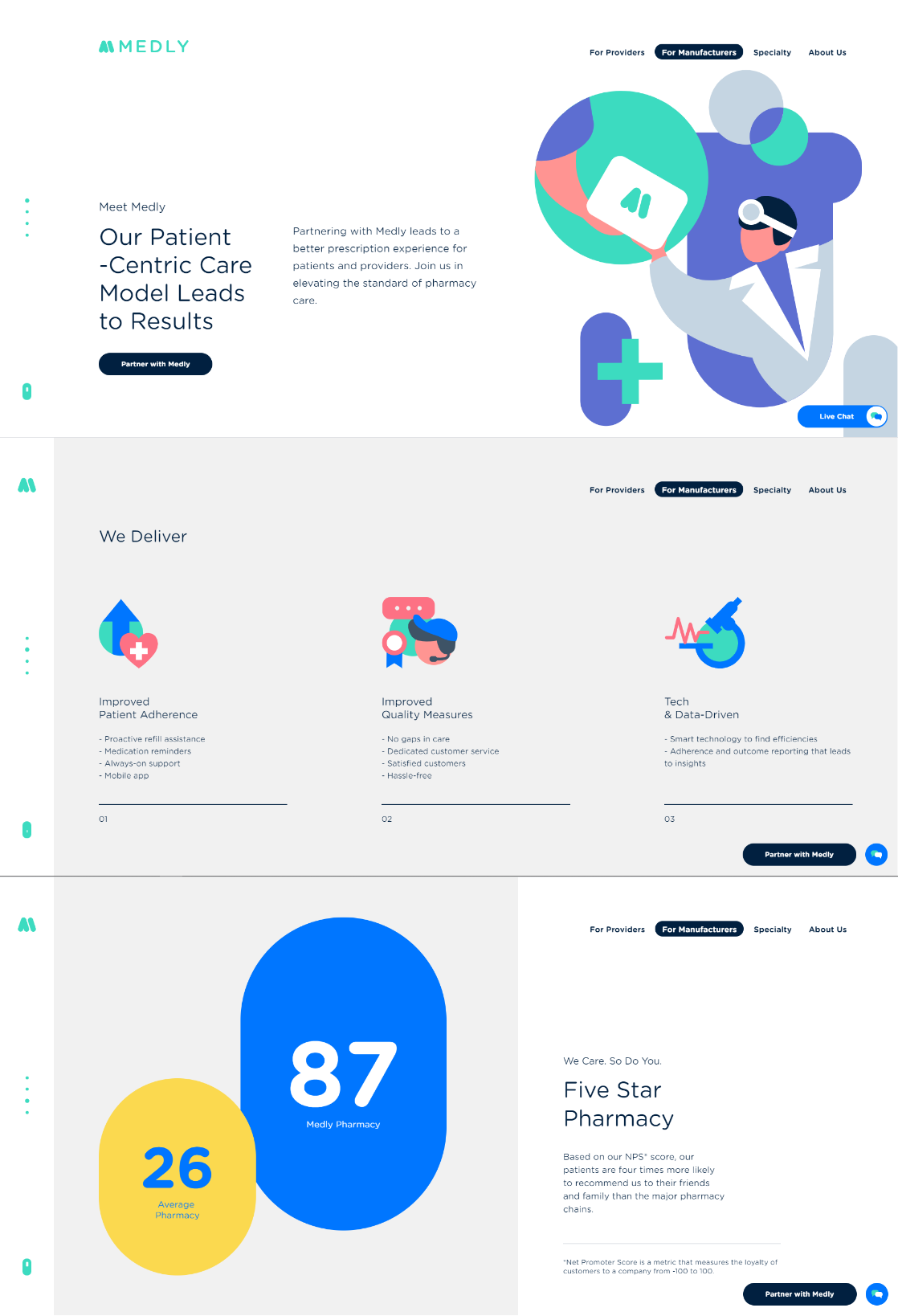 Medly Website Project