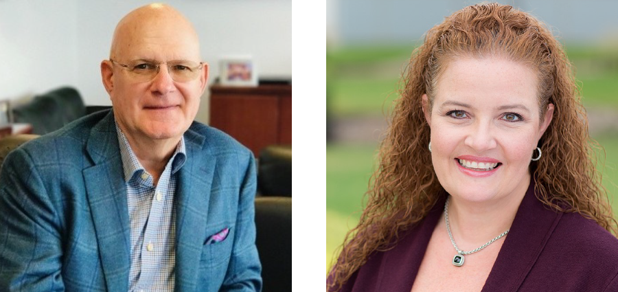 Bob Weiler Board of Director Real Chemistry and Dr Amy Grogg Ceo Advisory Board Real Chemistry