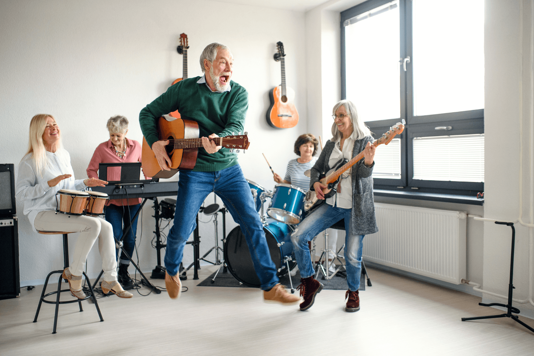 5 Best Instruments to Learn in an Assisted Living Community