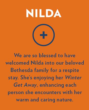 Nilda, Bethesda Gardens Respite Care, Fort Worth