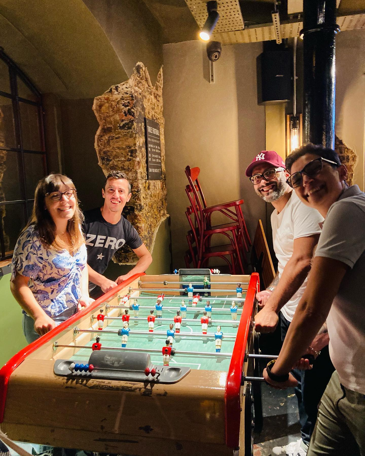 Fear not Man Utd fans, your team might not of won today, but you can always beat your fiends at Foosball down at kick. We've still got a few tables in our basement bar. ⚽️⚽️🍻 . . . #foosball #tablefootball #football #table #football #bargames #games #craftbeer #beer #cocktails #fun #shoreditch #london #barkick #eastlondon