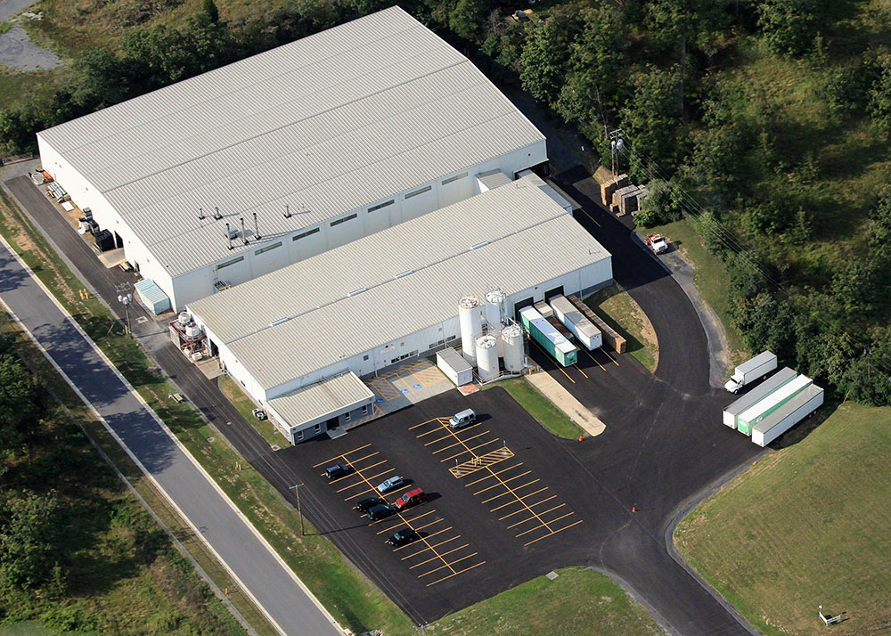 Blue Ridge Industries Plant Aerial photo