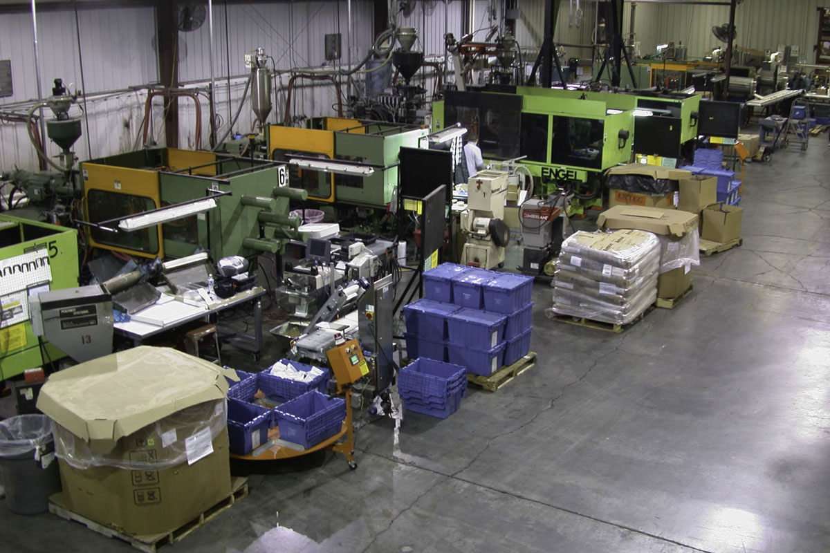 Injection Molding Presses Room