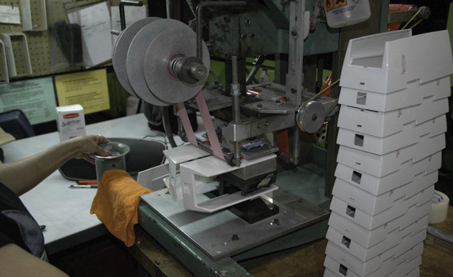 Hot Stamping Plastic Decoration