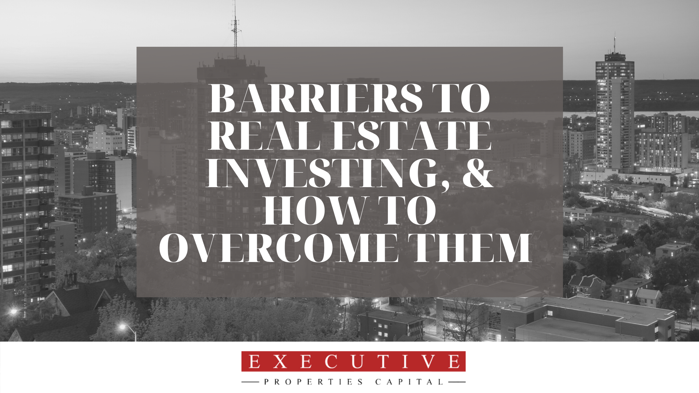Barriers to real estate investing, and how to overcome them