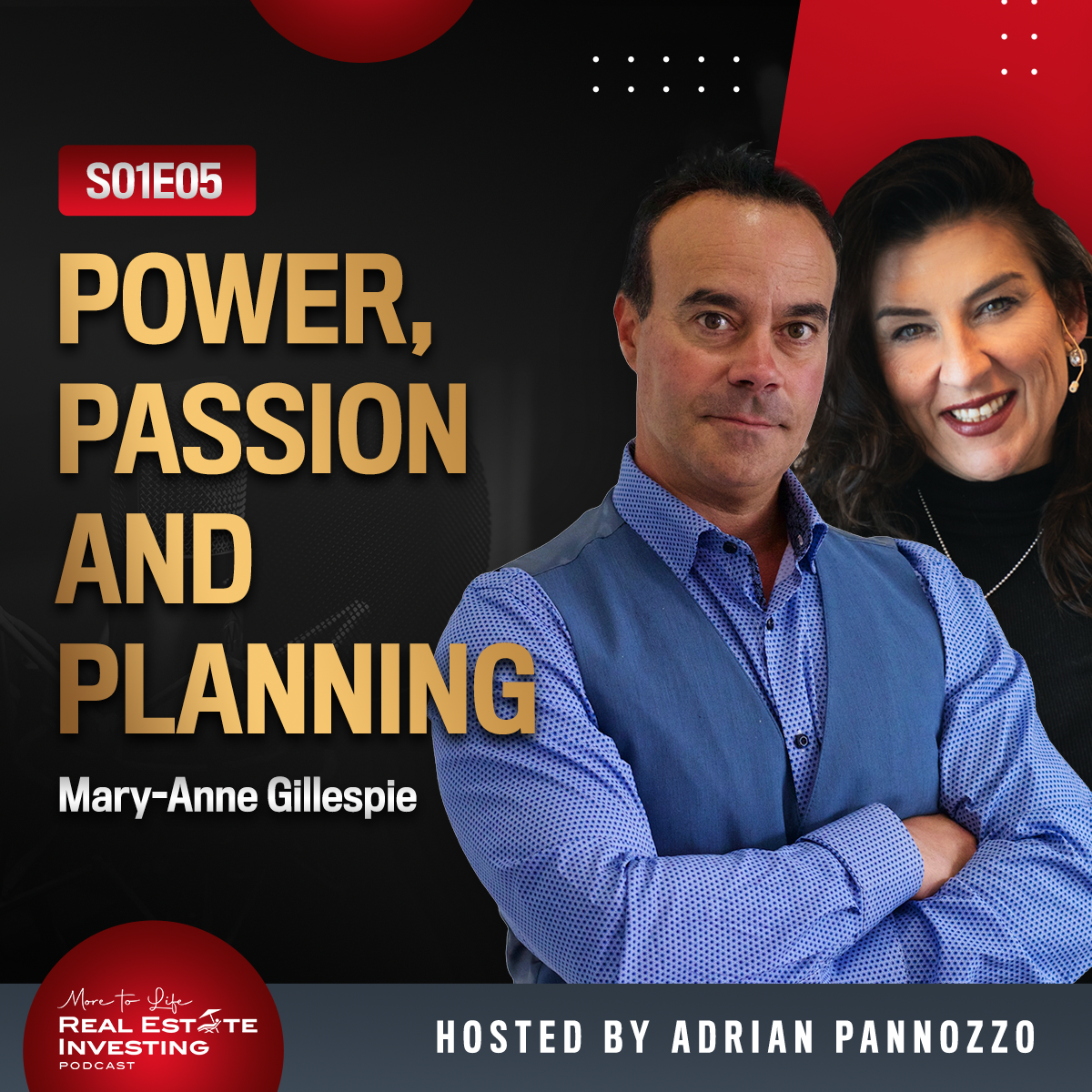Power, Passion And Planning with Mary-Anne Gillespie | S01E05