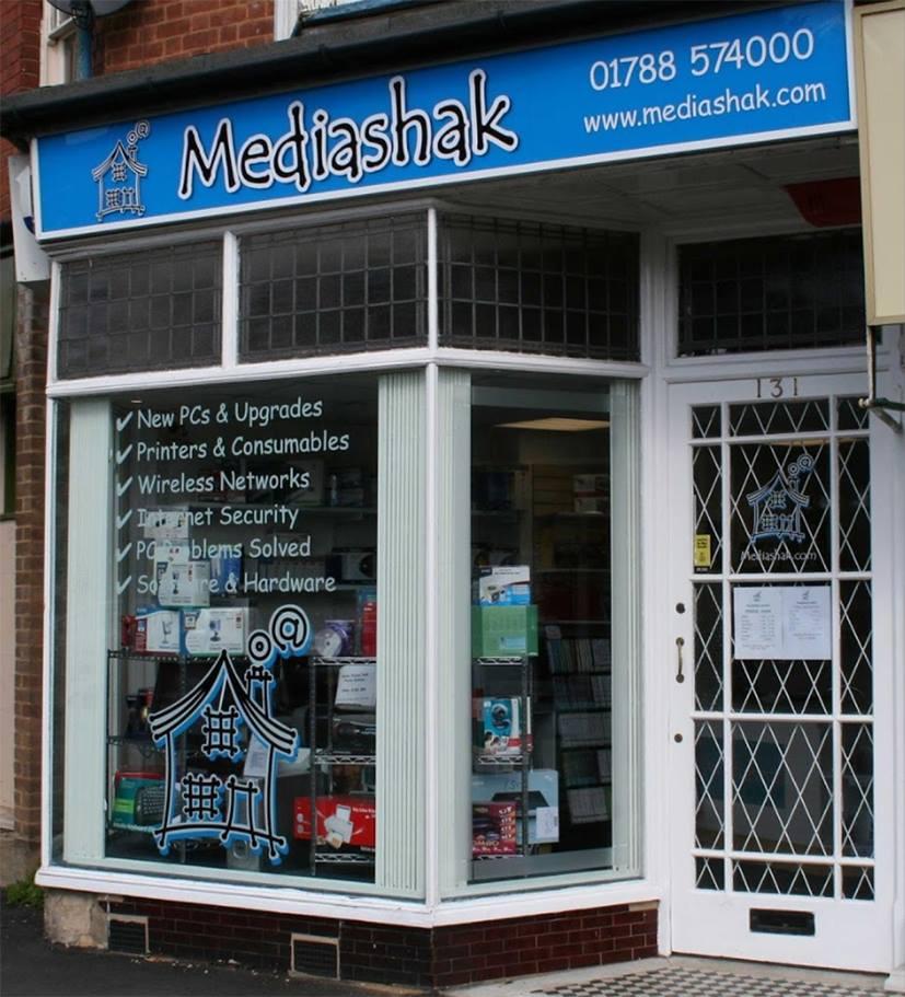 Mediashak - Laptop and phone repair centre in Rugby