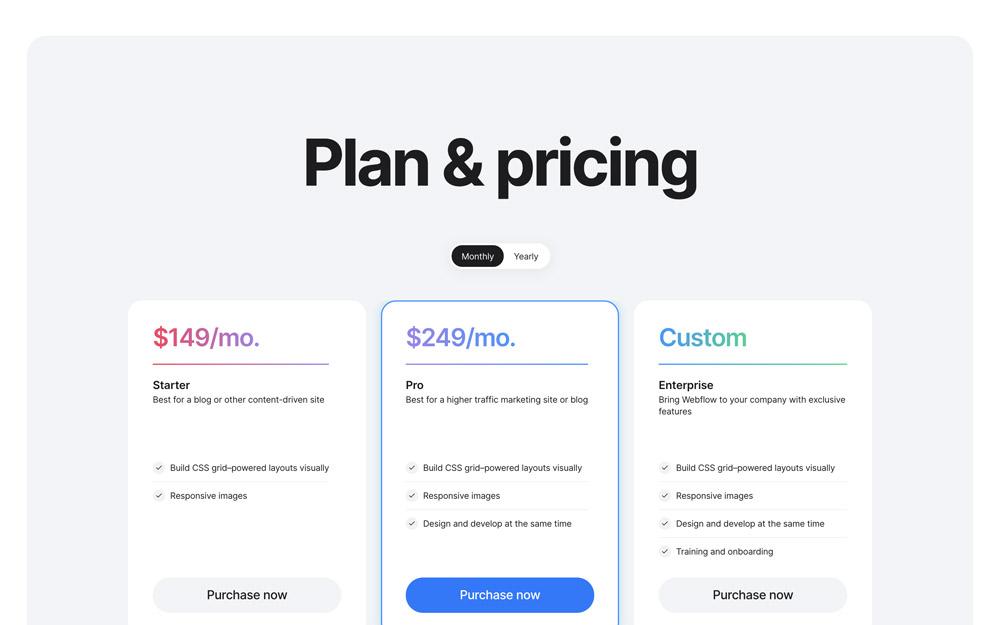 Pricing #1
