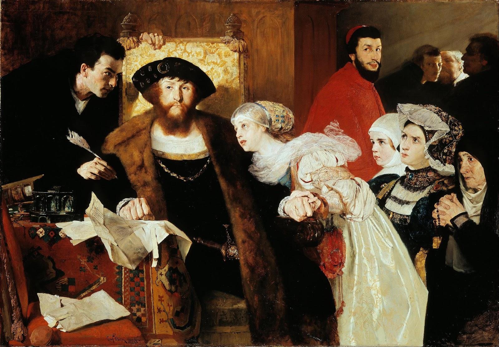 Christian II undertegner dødsdommen over Torben Oxe» – Wikipedia