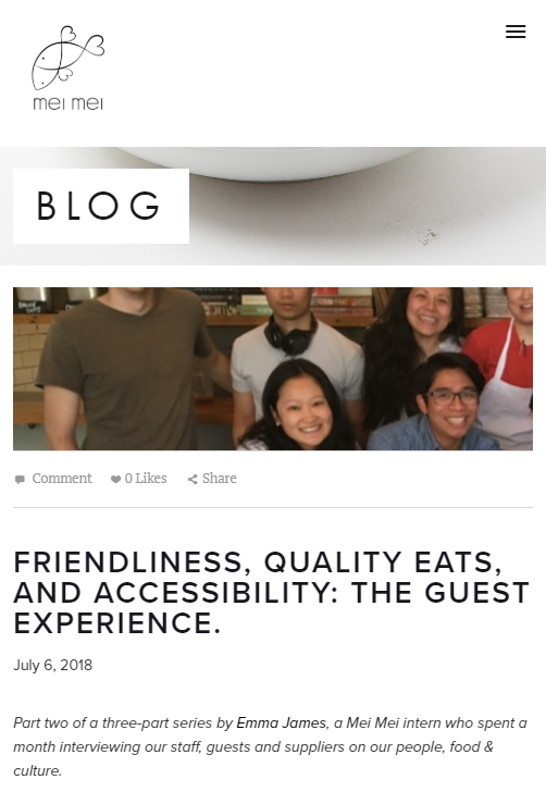 Using testimonials to promote a restaurant
