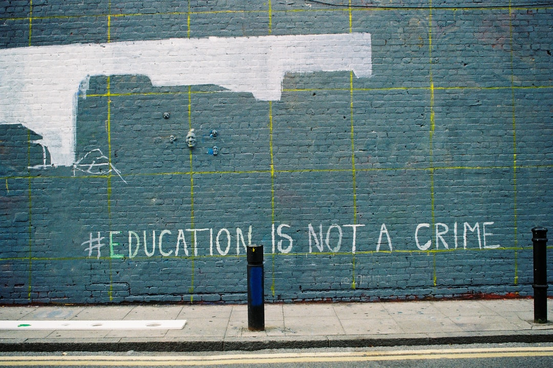 Education is not a crime, London 2018