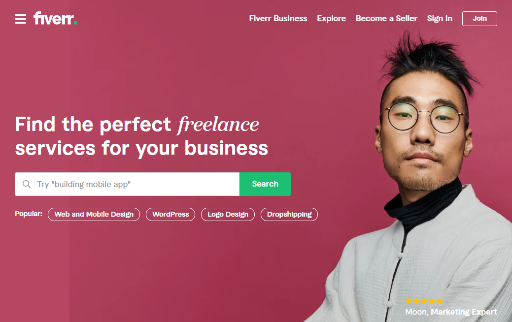 Hiring cheap freelance writers with Fiverr
