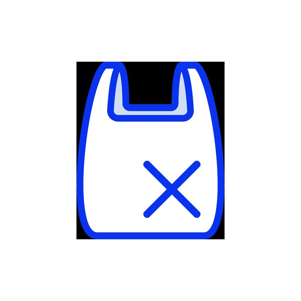 Plastic reduction icon