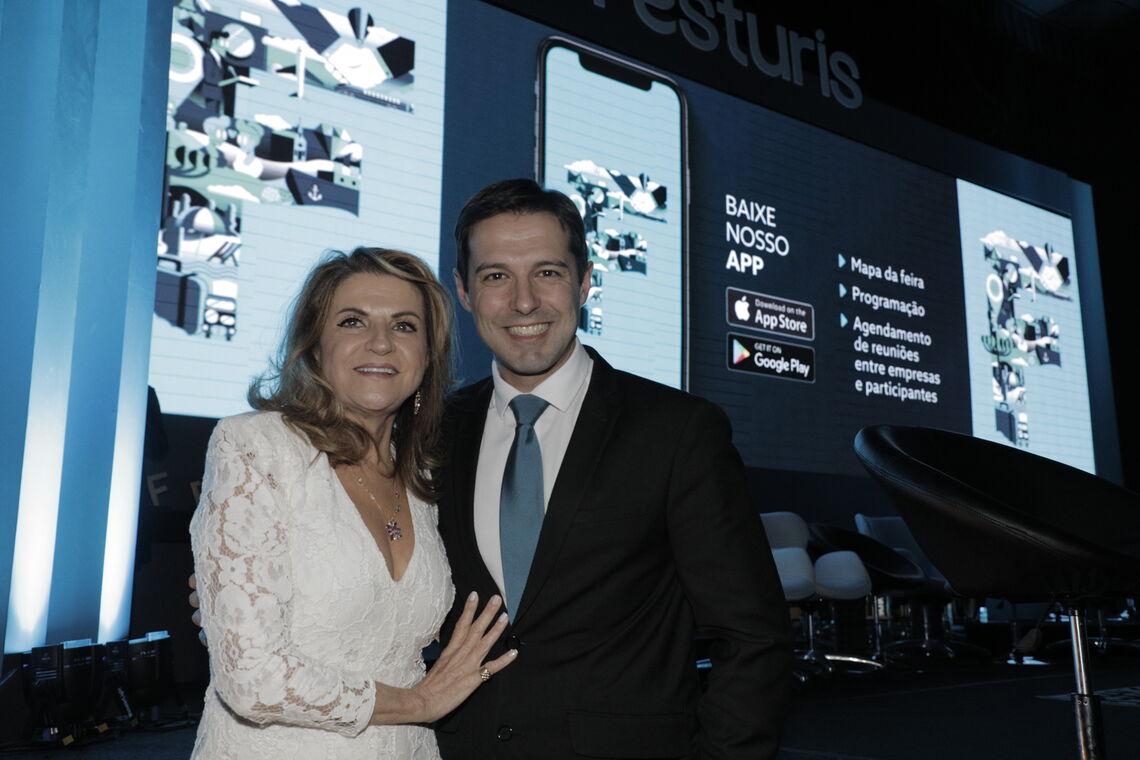 Os CEO's do Festuris Marta Rossi e Eduardo Zorzanello não mediram esforços para ajudar na retomada segura do turismo e dos eventos