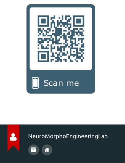 grey qr code on a mobile webpage screenshot