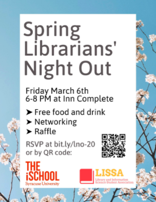 QR code university spring event poster