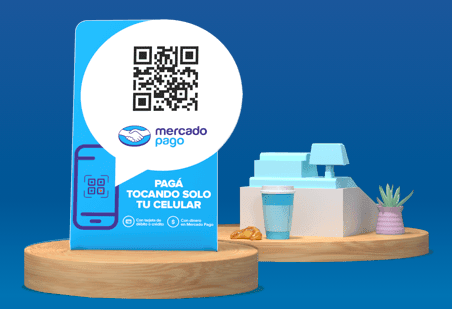 mercado pago qr code advertisement