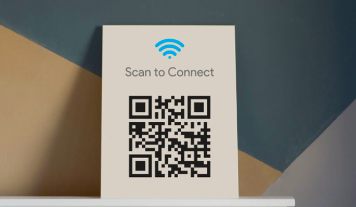 scan to connect WiFi qr code