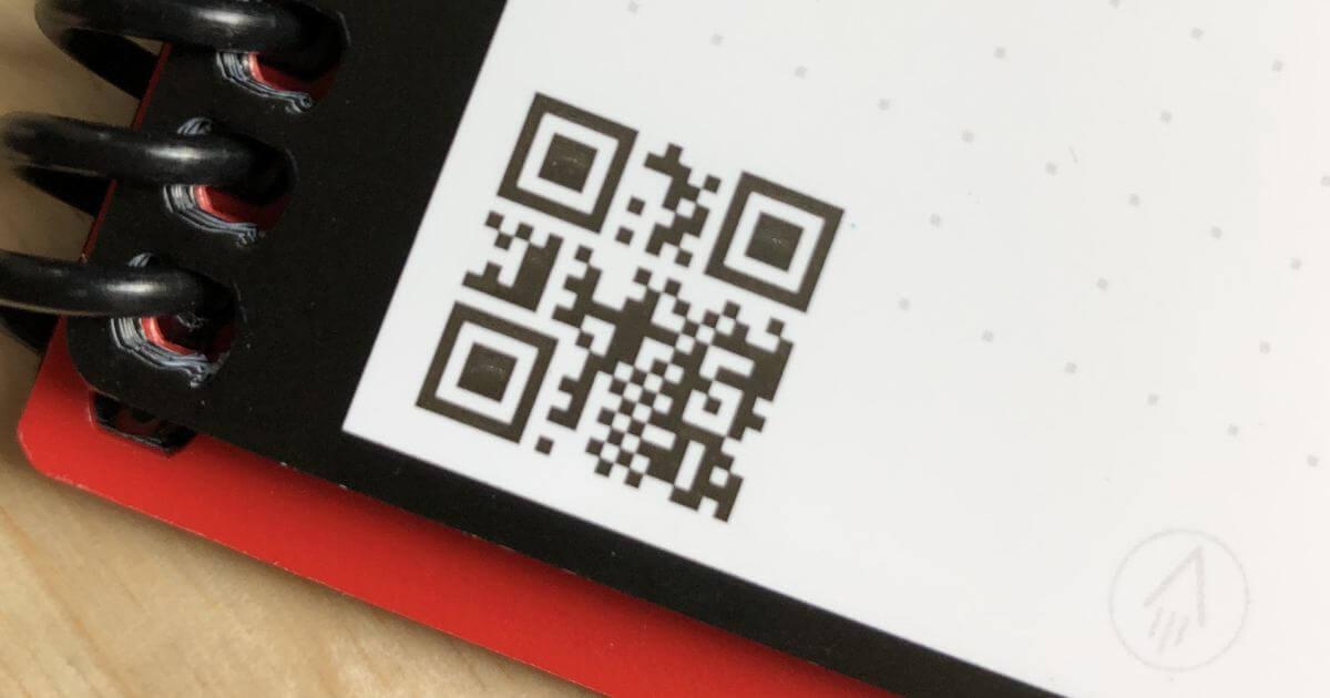 QR Codes on Merchandise