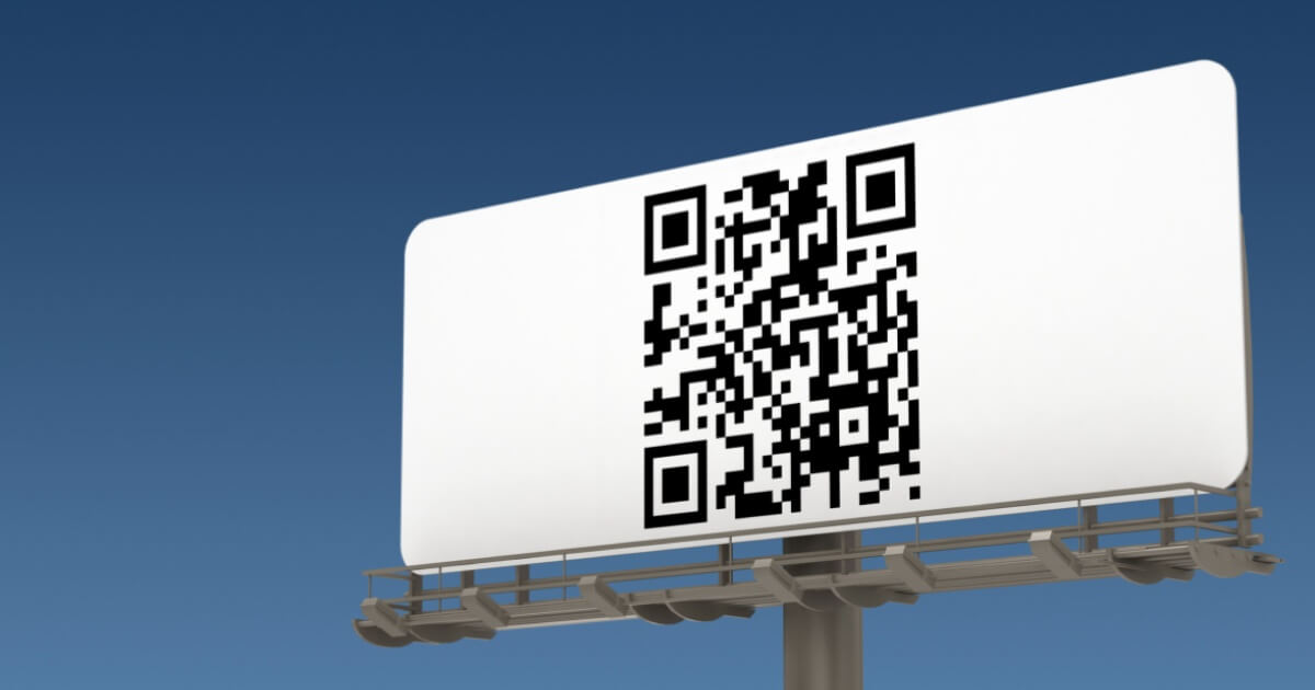 QR Codes for Street Advertising and Billboards