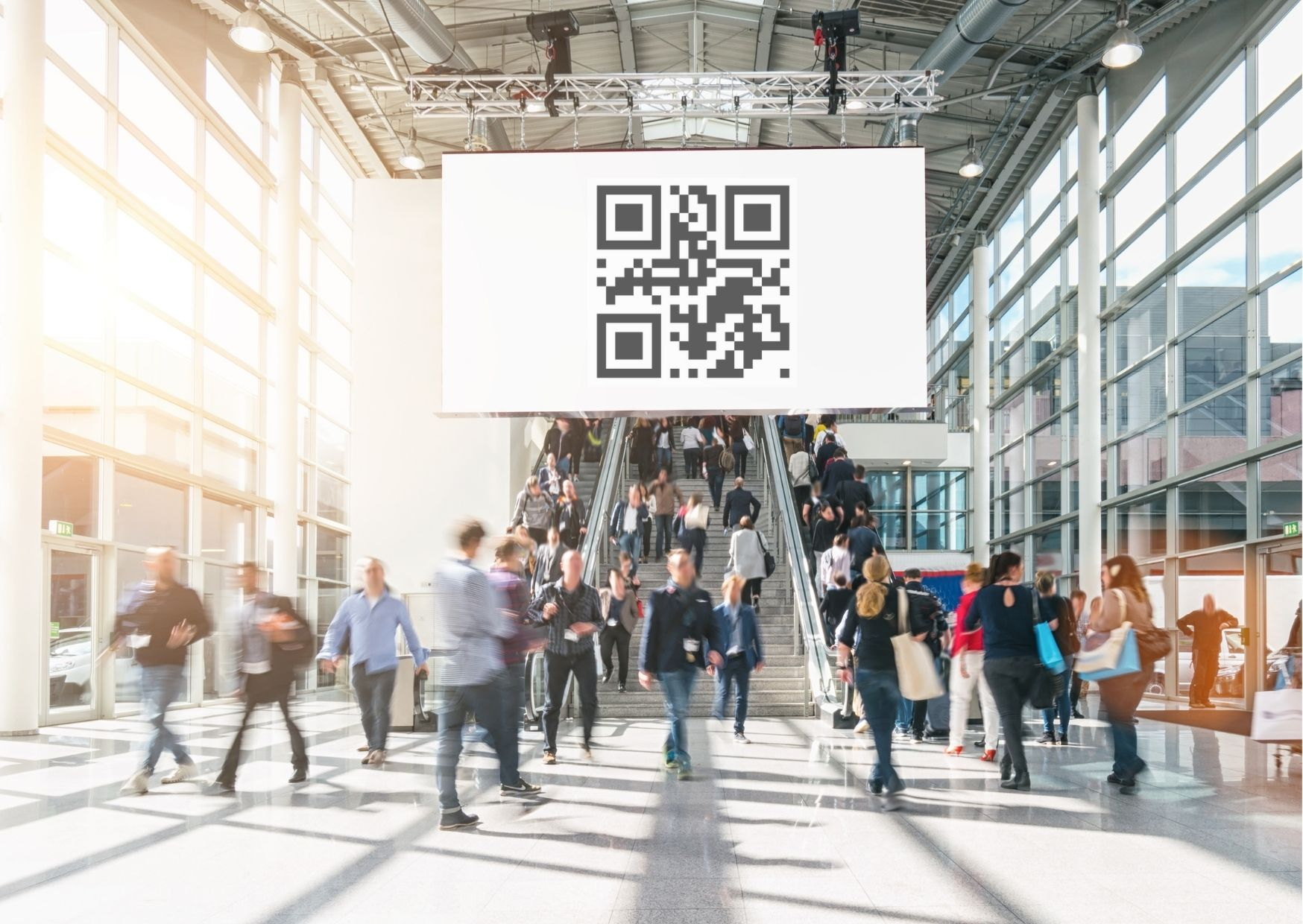 QR Codes for Trade Shows