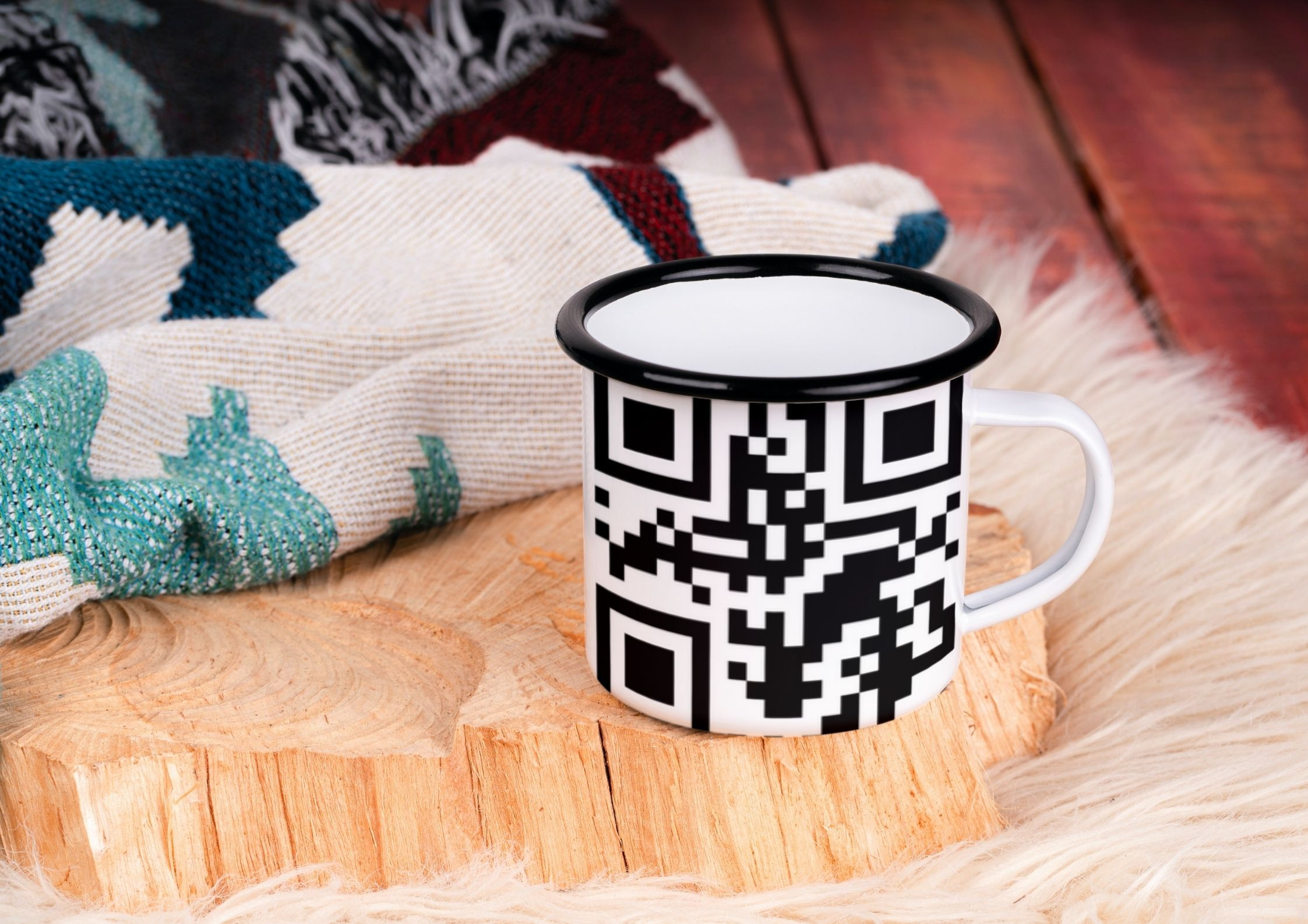QR Codes on Cups