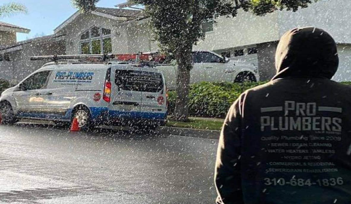 Pro Plumbers Inc in San Pedro and Corona, CA.