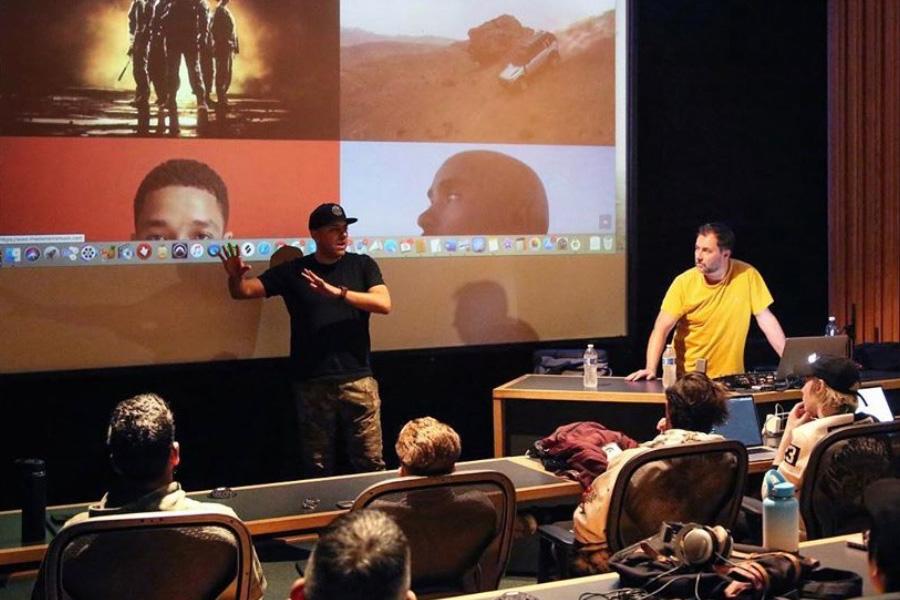 J and Dan at Icon
