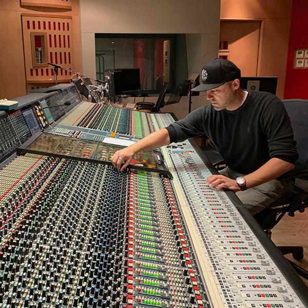 J Abbey Road mixing desk