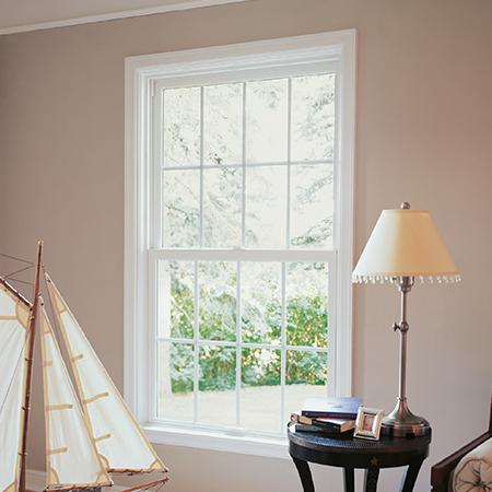 Interior Single Hung window.