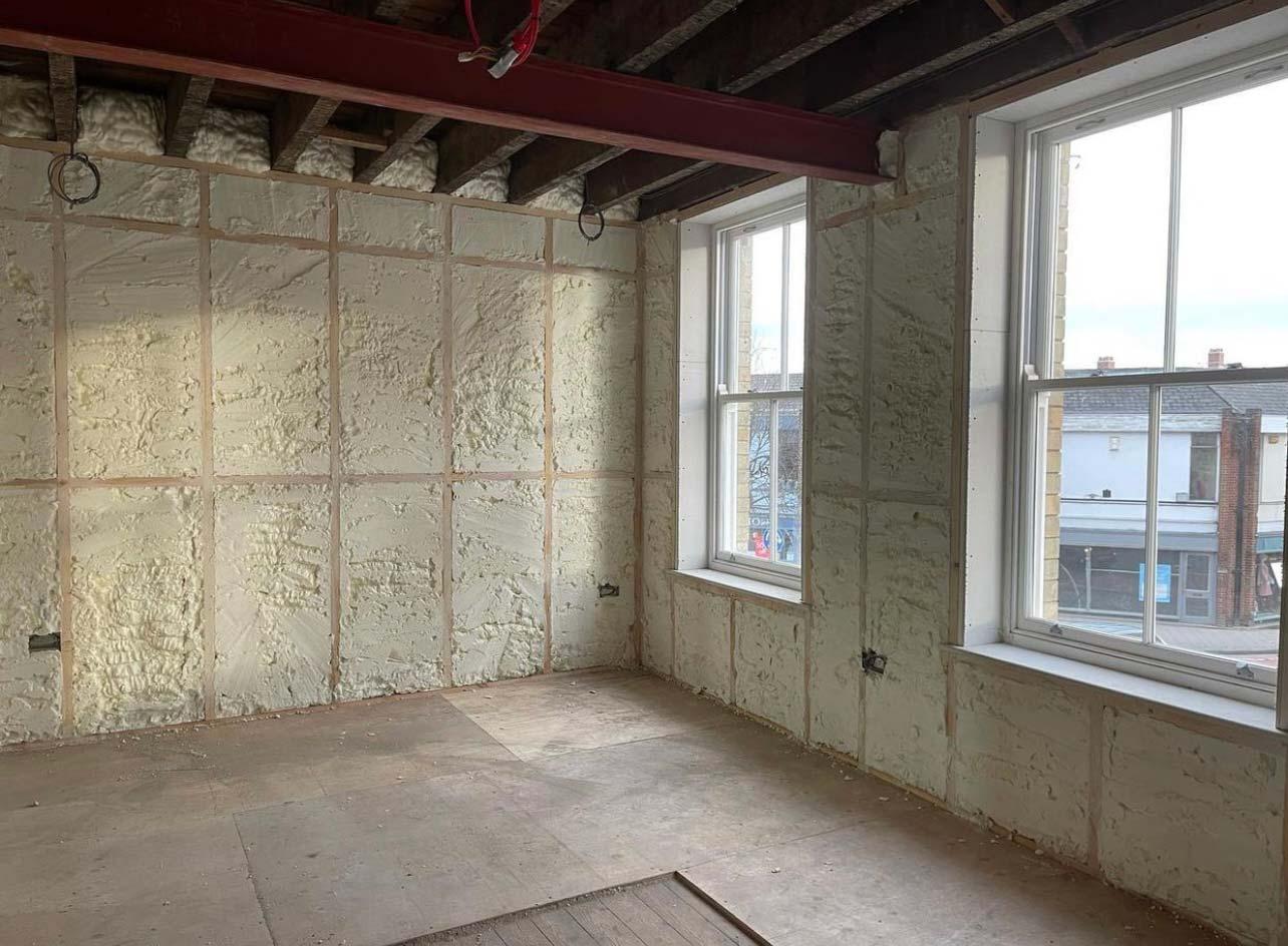 external walls insulation