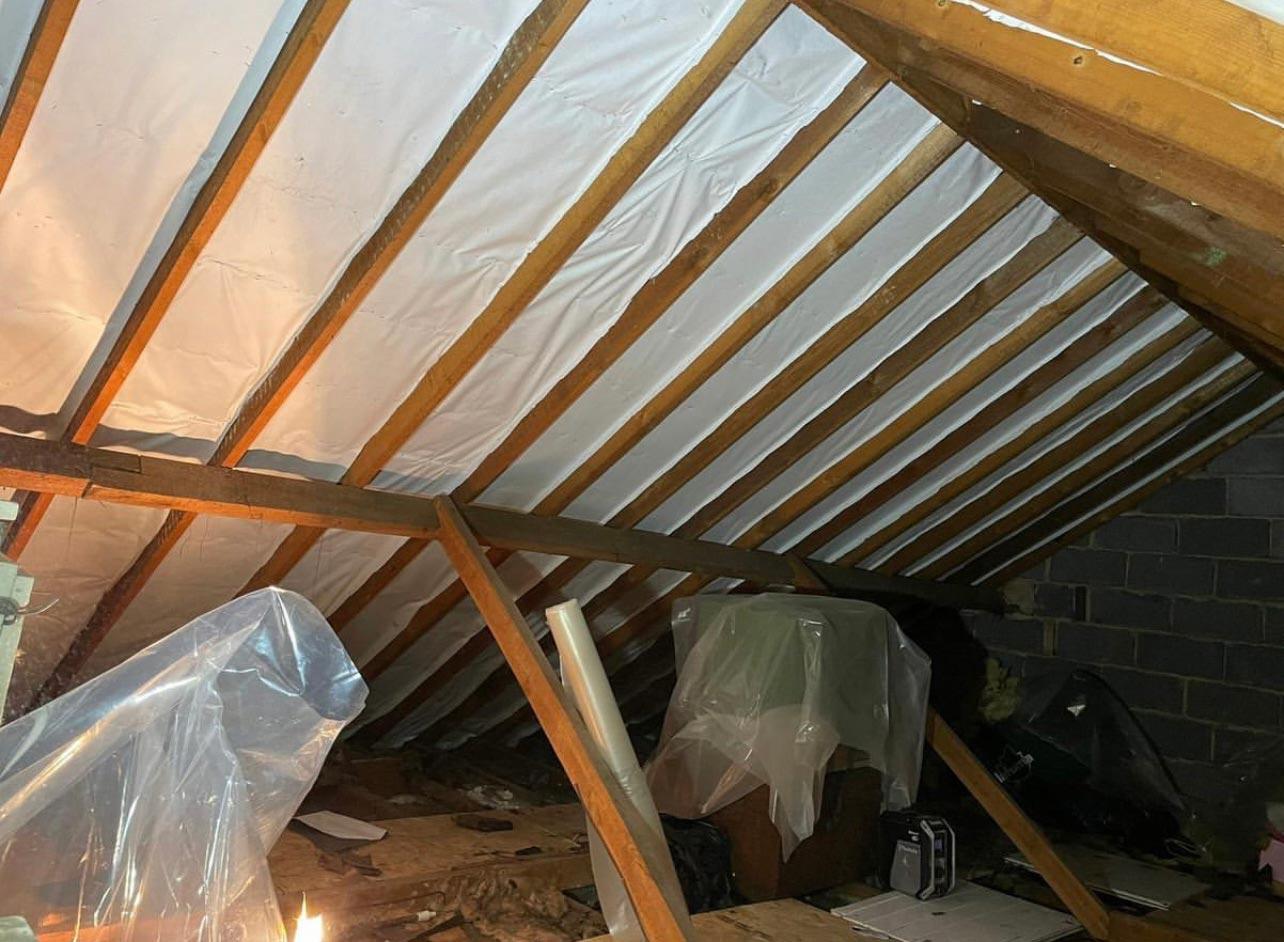 inside house roof