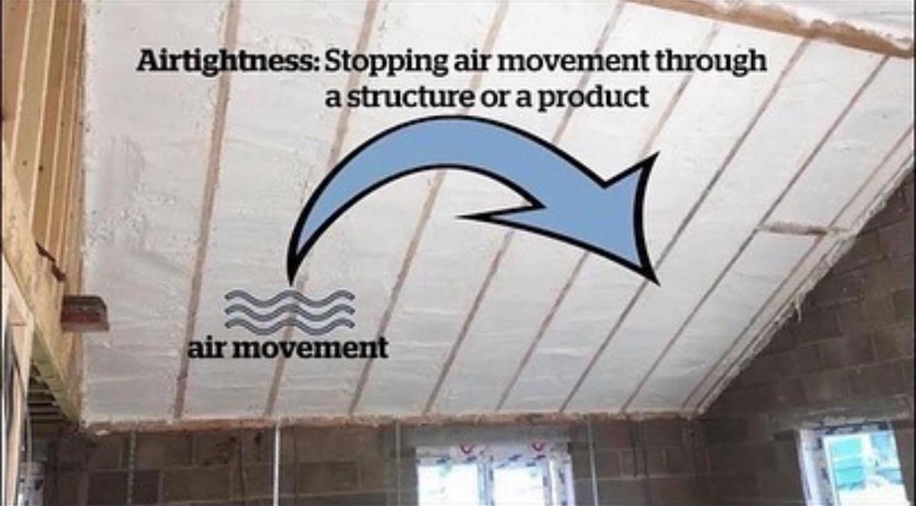 airtight foam insulation